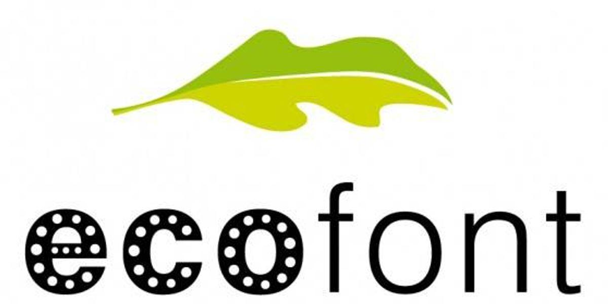 EcoFont: Tipografía Ecológica