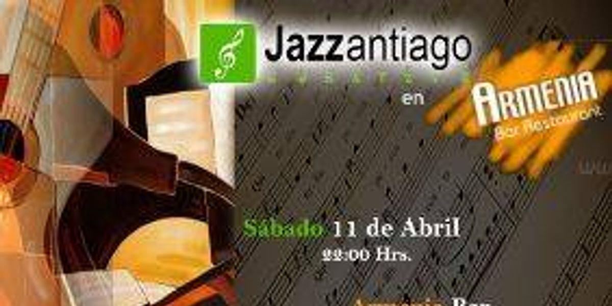 Jazzantiago Cuarteto en Armenia Bar