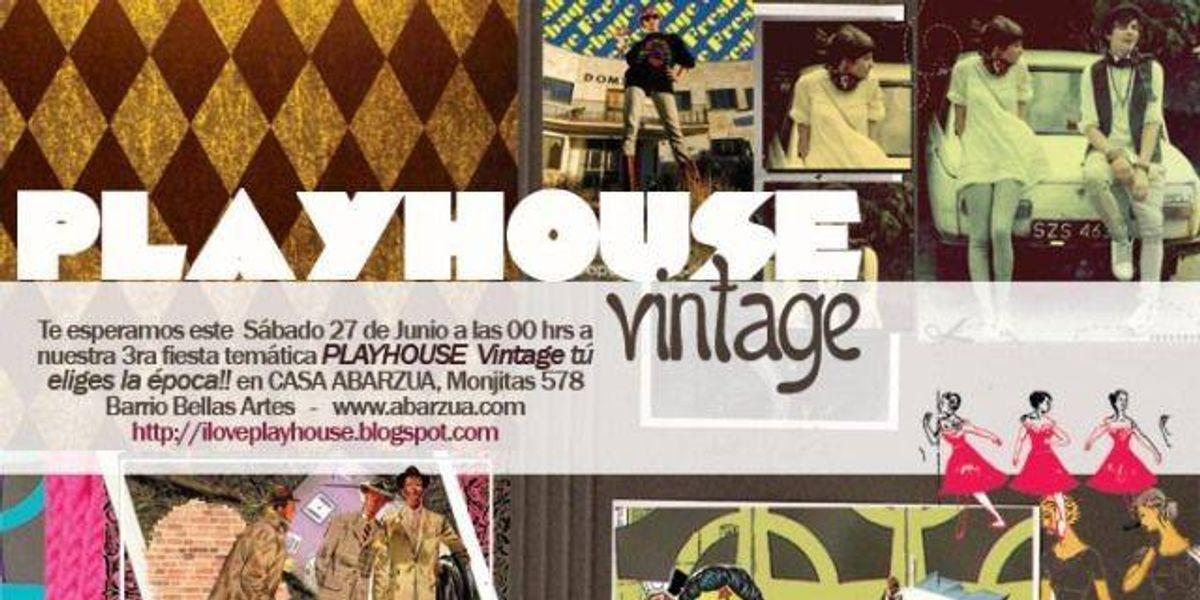Playhouse Vintage ya  hay ganadores!