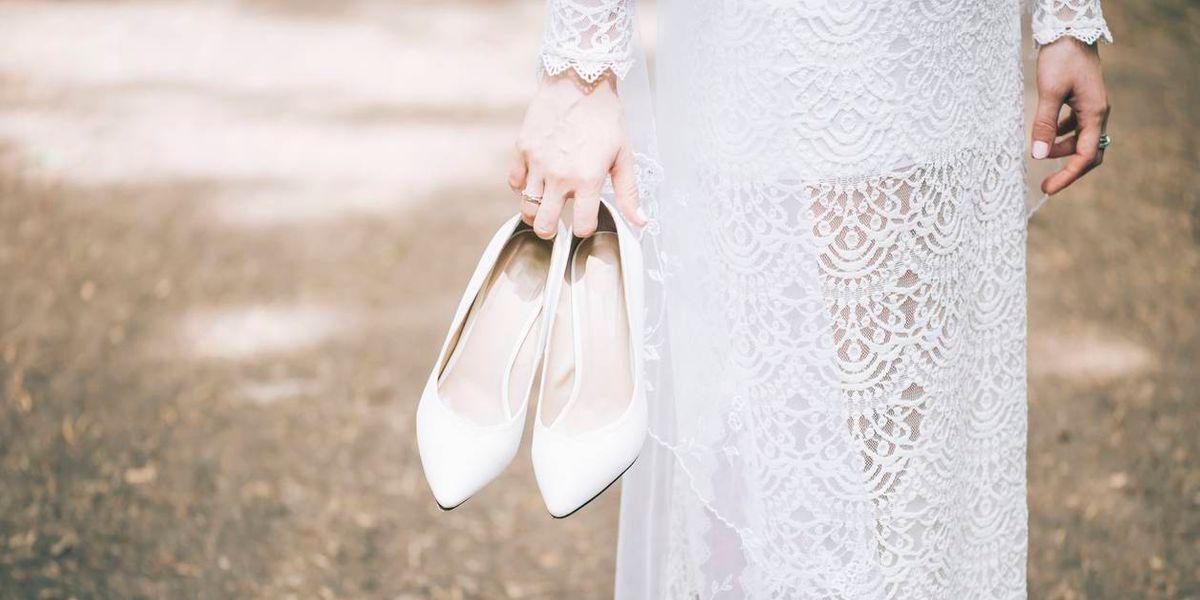 Cuatro tipos de zapatos de novia en tendencia para este año