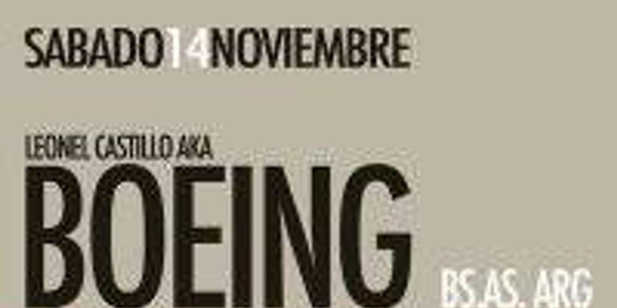 Boeing en Chile