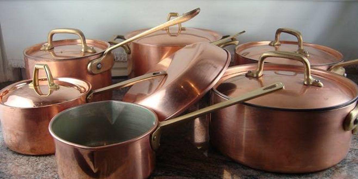Las propiedades de las ollas de cobre