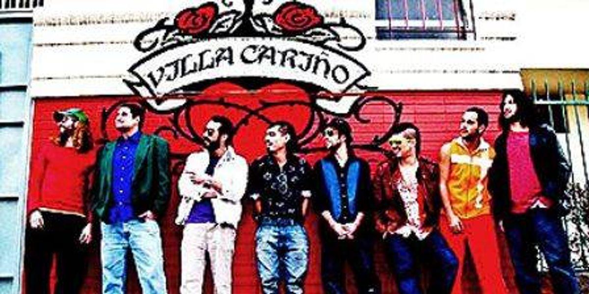 Lanzamiento oficial del segundo disco de Villa Cariño + fiesta post show