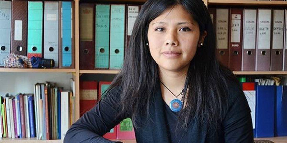 """Natividad Llanquileo: """"El poder económico se instaló para explotar irracionalmente la tierra y el mapuche la está defendiendo"""""""
