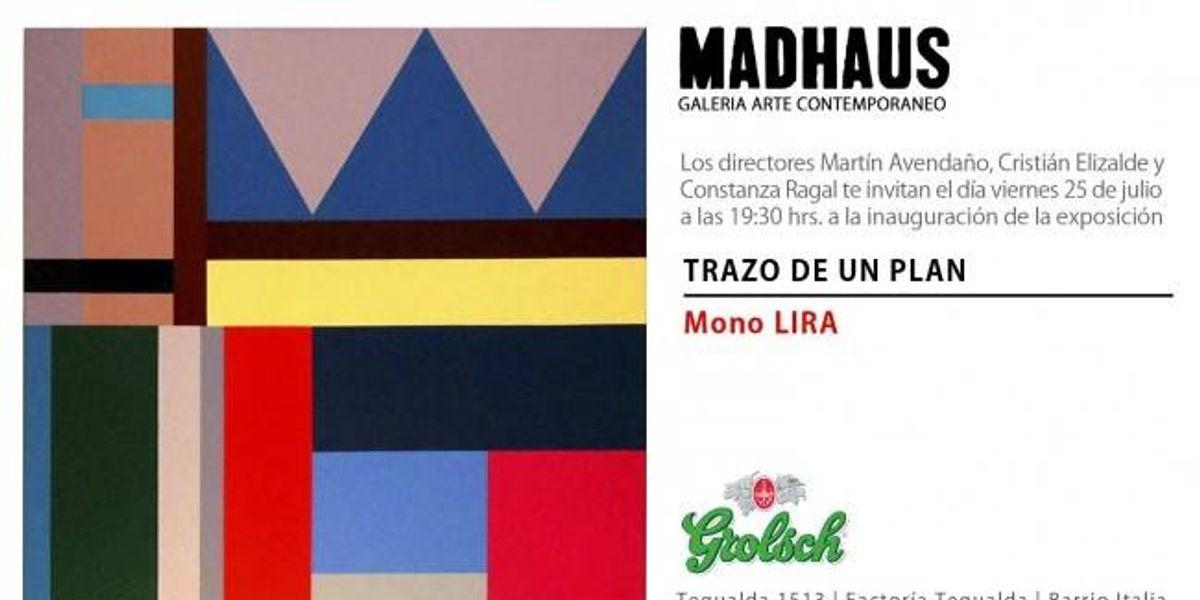 """Nueva exposición en Galería Madhaus """"Trazo de un Plan"""" de Cristian Mono Lira"""