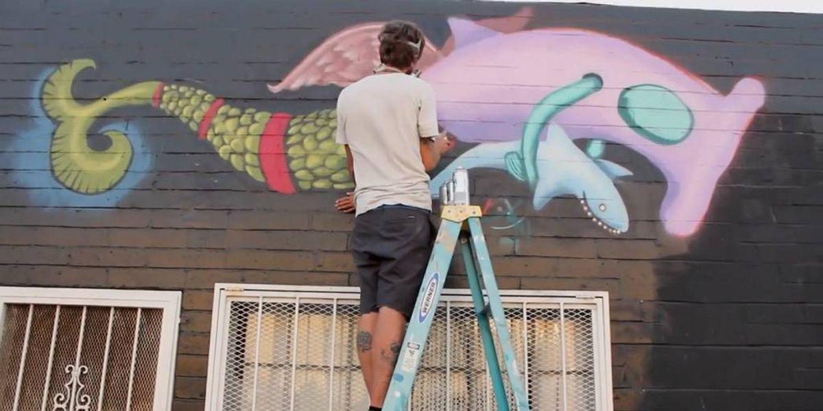 Artistas pintarán murales en México por la conservación del océano