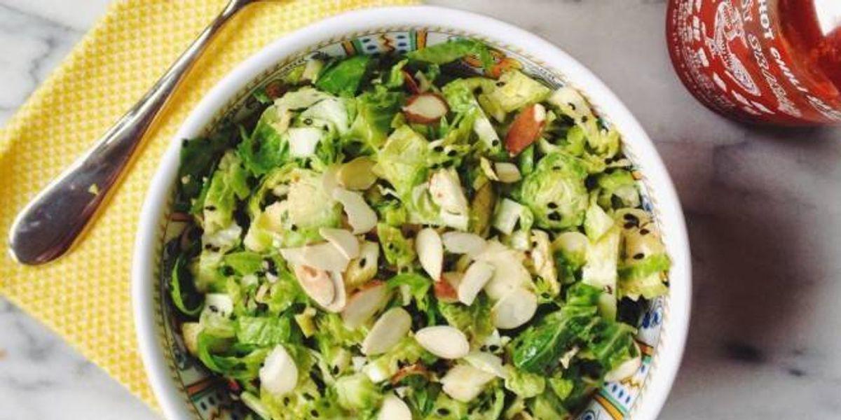 Prepara una ensalada con un toque japonés