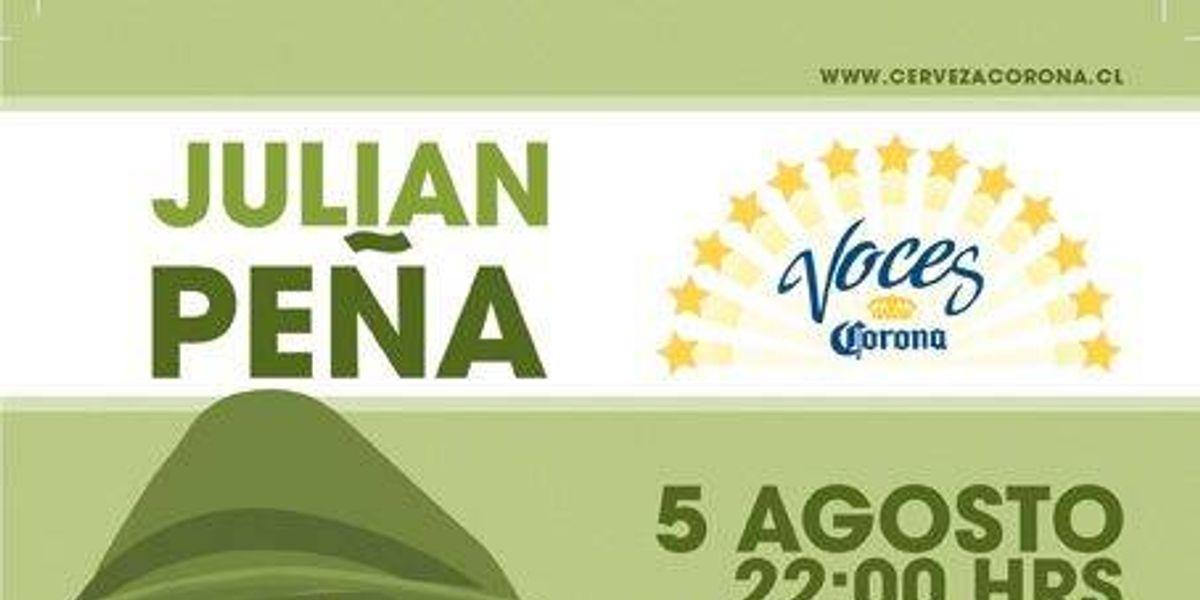 Voces Corona: Julián Peña en Lamu Lounge