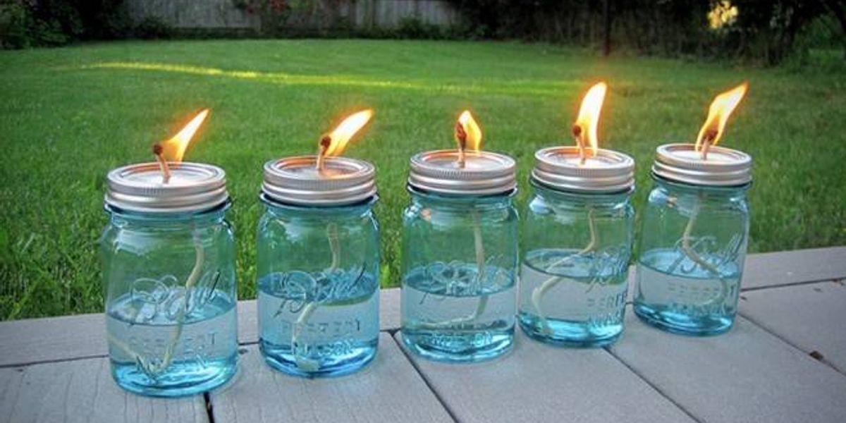 Recicla E Ilumínate Haz Tus Propias Lámparas De Aceite Veoverde