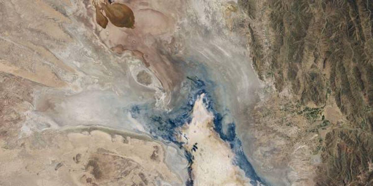 Los efectos del cambio climático en estas impresionantes imágenes de la NASA