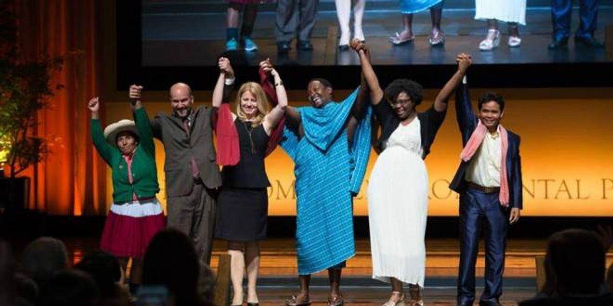 Conoce a los 6 ganadores del Nobel del Medio Ambiente