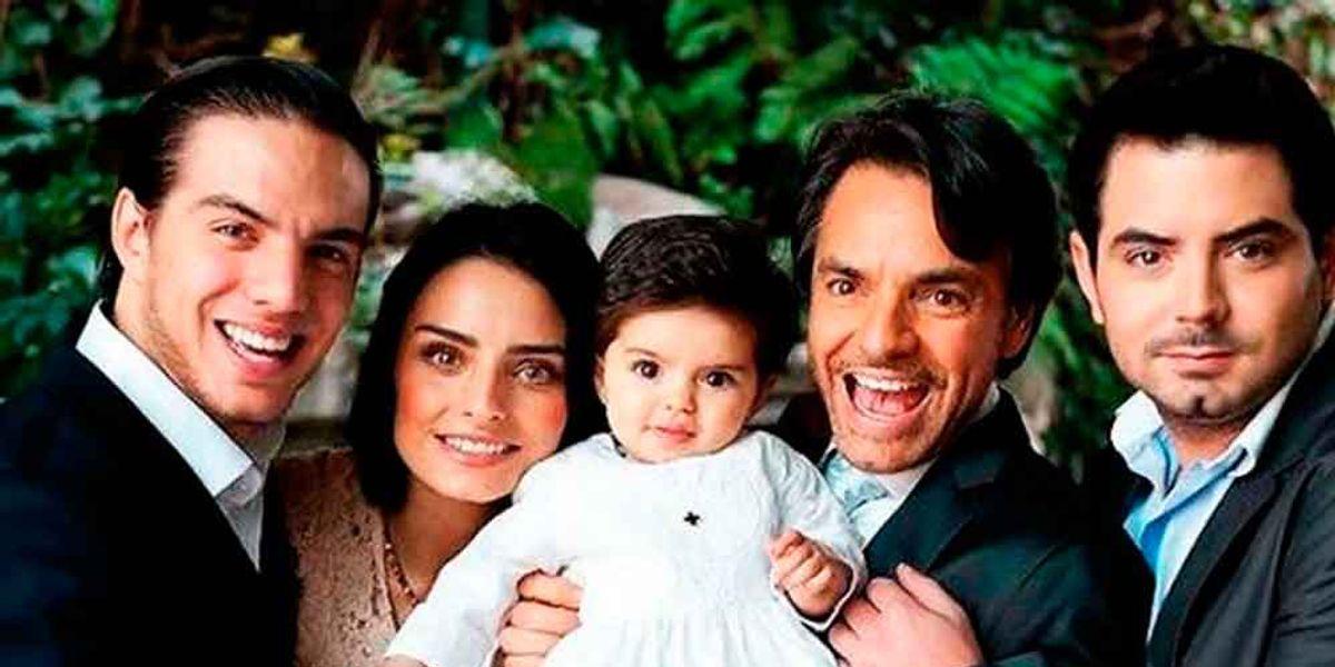 ¿Quiénes son las mamás de los hijos de Eugenio Derbez?