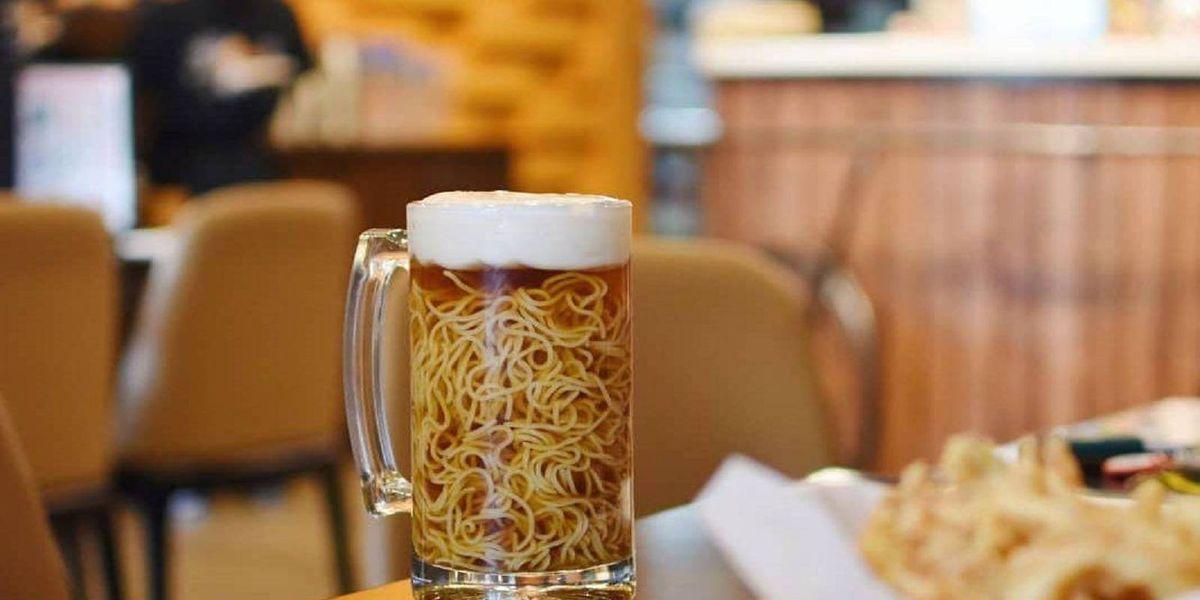 ¿Para comer o beber? El Ramen Cerveza es la comida más rara que verás en las redes sociales