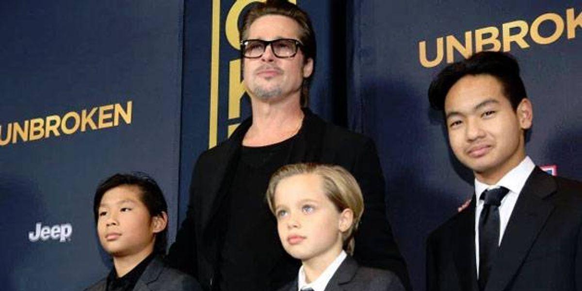 Brad Pitt mantiene una excelente relación con sus hijos desde la separación de Angelina