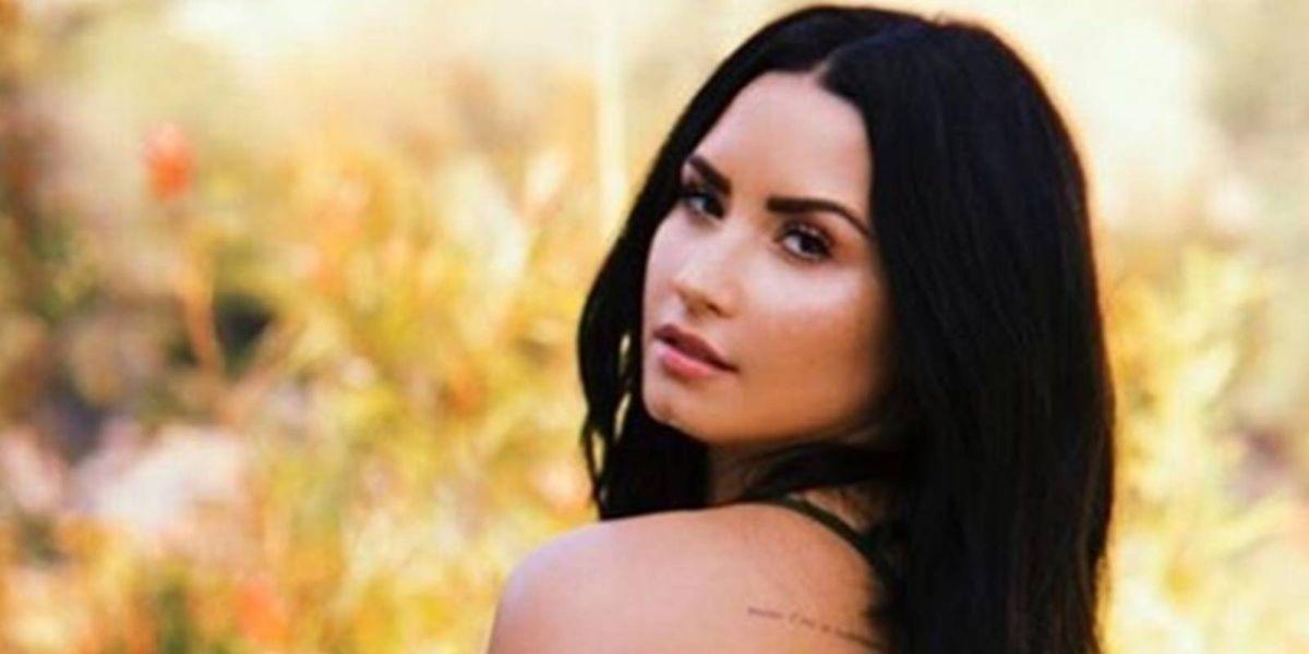 Demi Lovato reaparece en sus redes sin una gota de maquillaje y con un inspirador mensaje