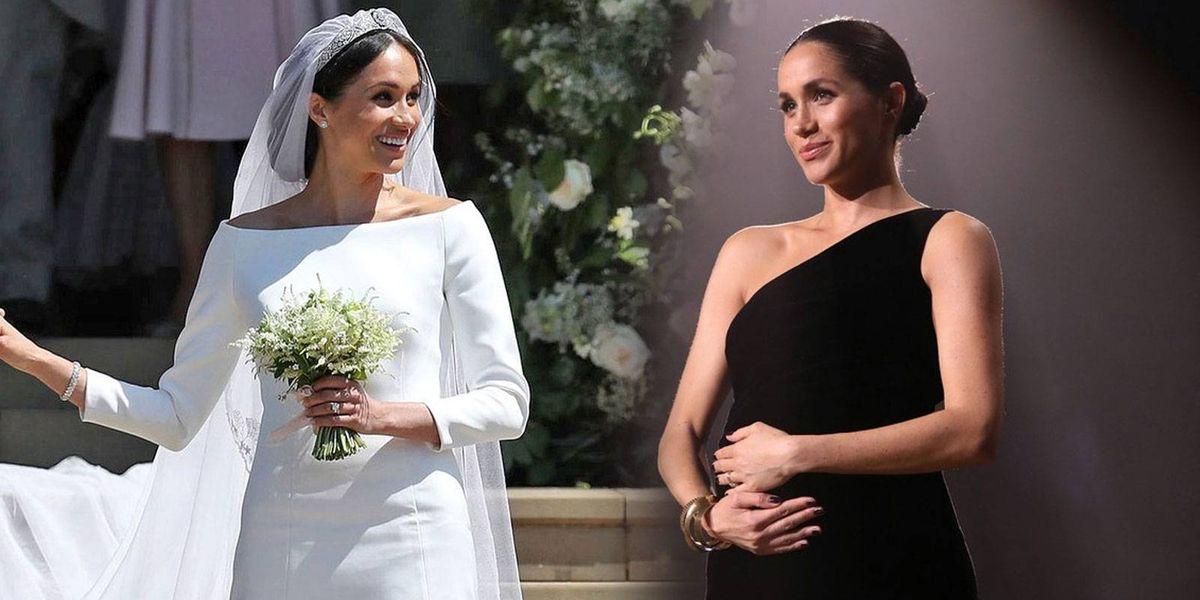 ¿Se casó embarazada? Esta teoría indica que Meghan Markle ya estaba embarazada en la boda