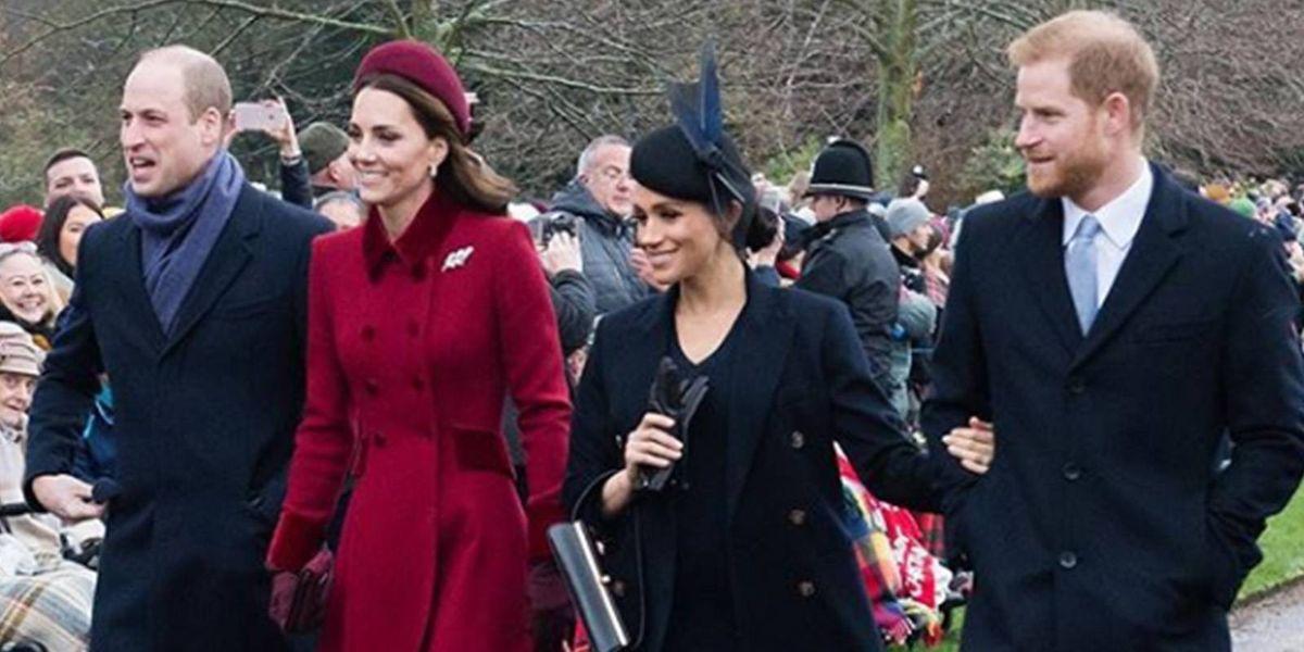 El desplante del príncipe William a Meghan en Navidad que nadie vio