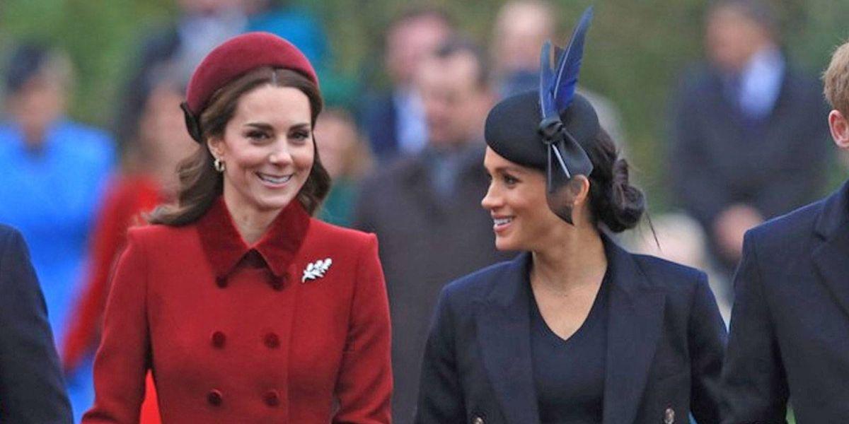Meghan Markle y Kate Middleton van a misa de aguinaldo juntas para callar rumores de pelea