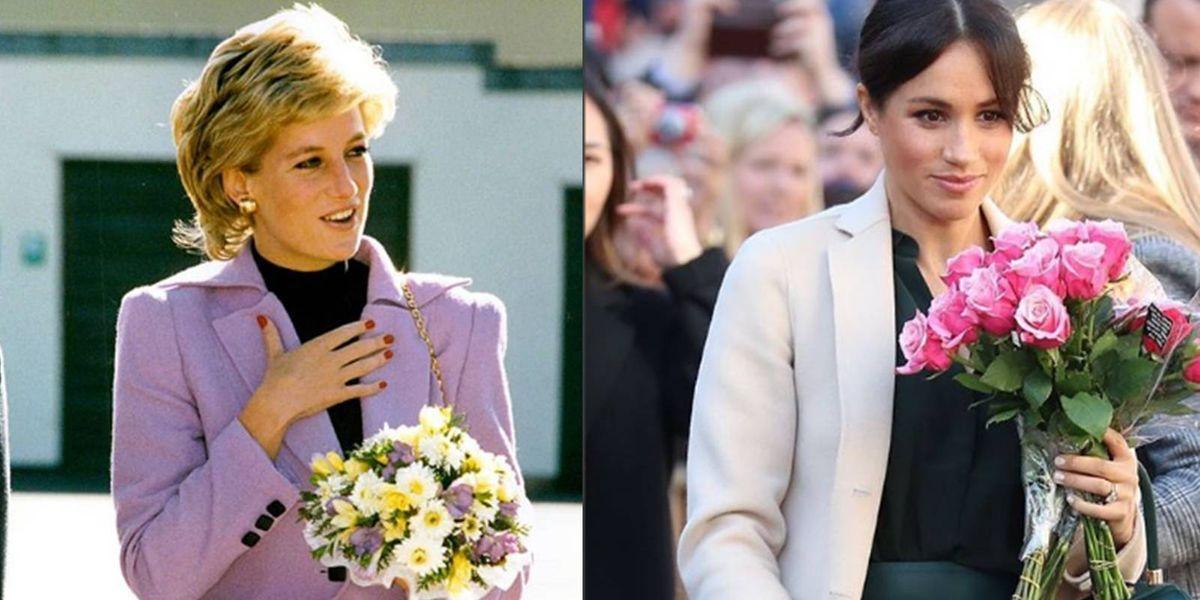 """""""Ella es la nueva Lady Di"""", la foto por la que comparan a Meghan con la princesa Diana"""
