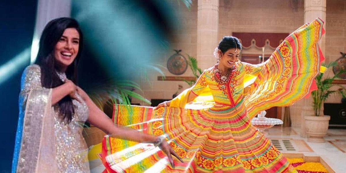 Estos fueron todos los vestidos que usó Priyanka Chopra en su boda con Nick Jonas