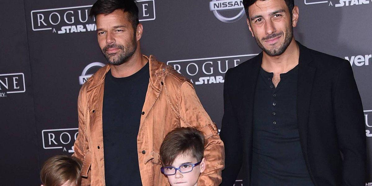 Ricky Martin anunció que se convirtió en padre de una niña