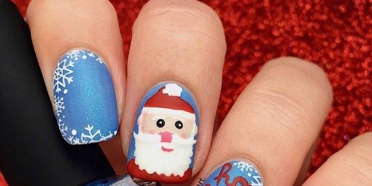 Otros 8 estilos para darle a tus uñas una ¡Feliz Navidad!