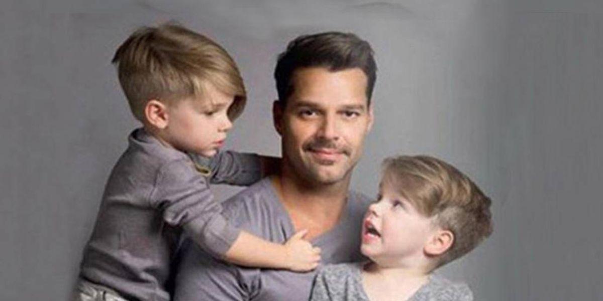 El hijo de Ricky Martin sorprende en foto junto a Jwan Yosef