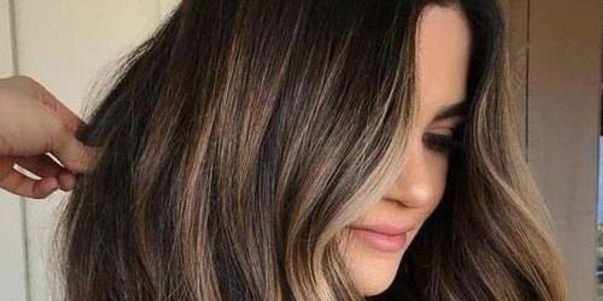 Reflejos en tonos rubios para cabello castaño 2020