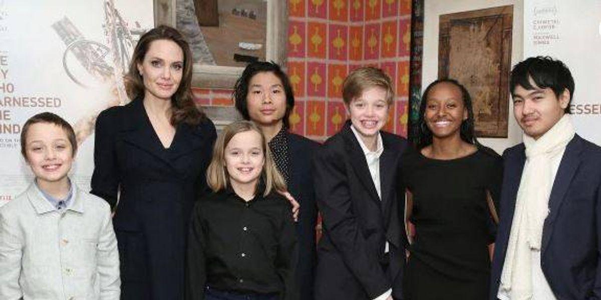 El poderoso consejo de Angelina Jolie a sus hijas sobre lo que es ser mujer