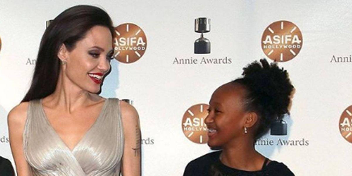 El difícil momento que Zahara Jolie Pitt debió enfrentar cuando su madre biológica reapareció