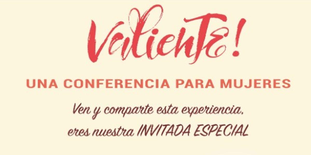 'Valiente' una conferencia para el empoderamiento de la mujer