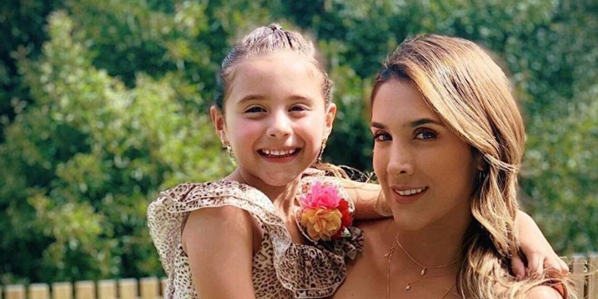 Daniela Ospina bailó junto a su hija y varios afirman que ha estado practicando