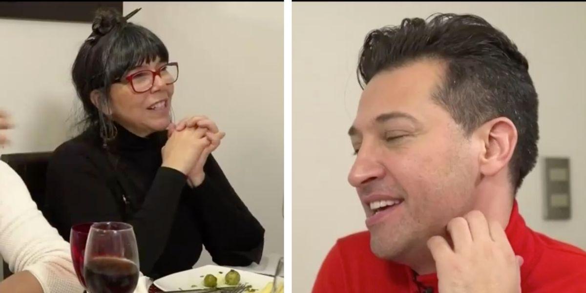 """""""Bueno… ¿y cuándo salimos del closet?"""": La desubicada pregunta de Malucha Pinto a Pablo Ruiz en """"La Divina Comida"""""""
