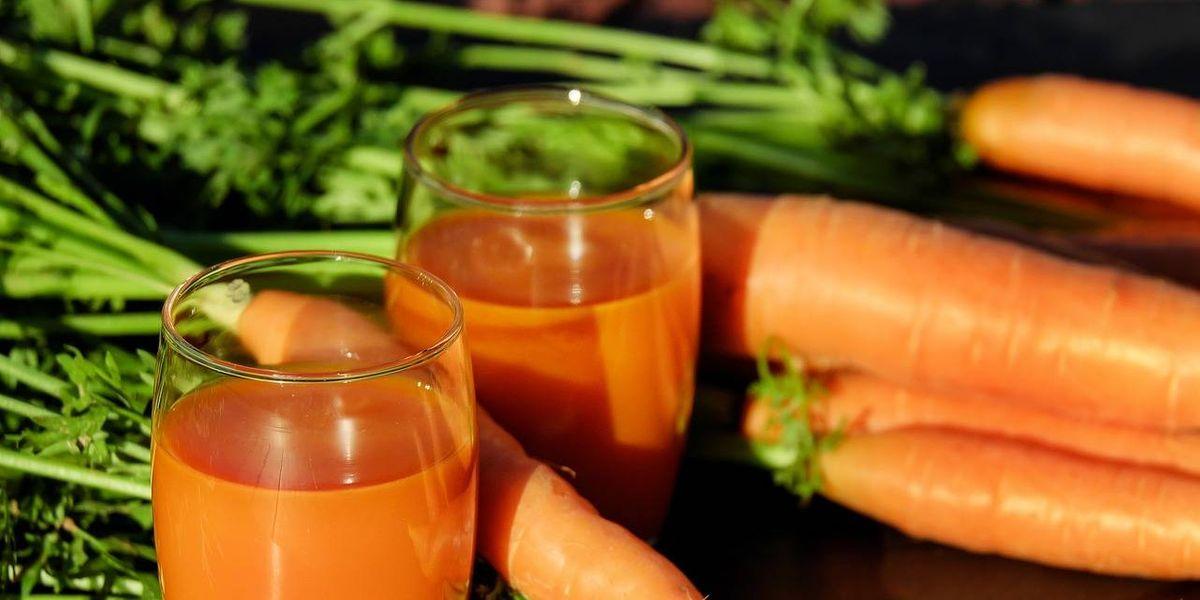 Dos jugos con zanahoria para limpiar los riñones