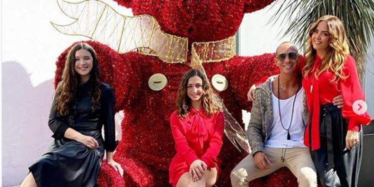 Las espectaculares vacaciones de fin de año de Andrea Legarreta y su familia en China