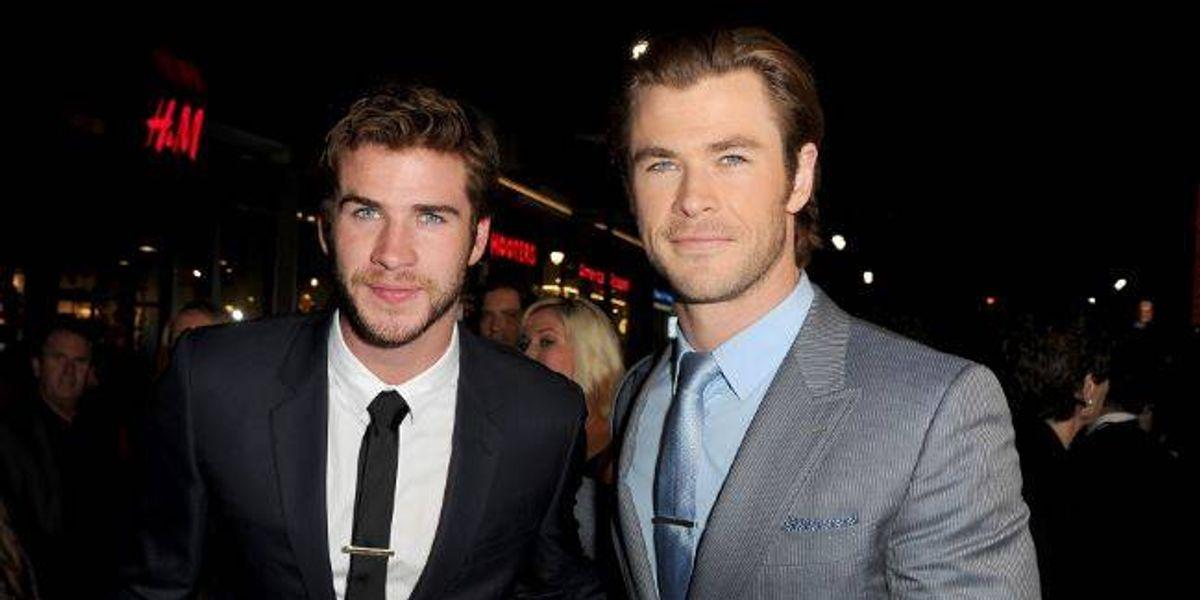 Chris y Liam Hemsworth son los mejores hermanos y además los más guapos, suspiremos con estas fotos