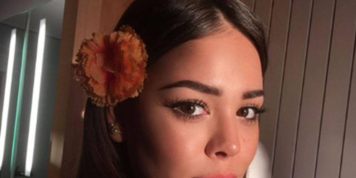 Danna Paola recibe fuertes ataques por olvidarse de sus raíces y hablar como española