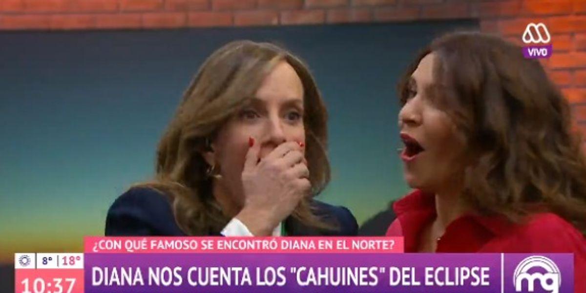 ¡Aún no olvida a Canal 13! Diana Bolocco sufre fail en vivo al confundir su casa televisiva