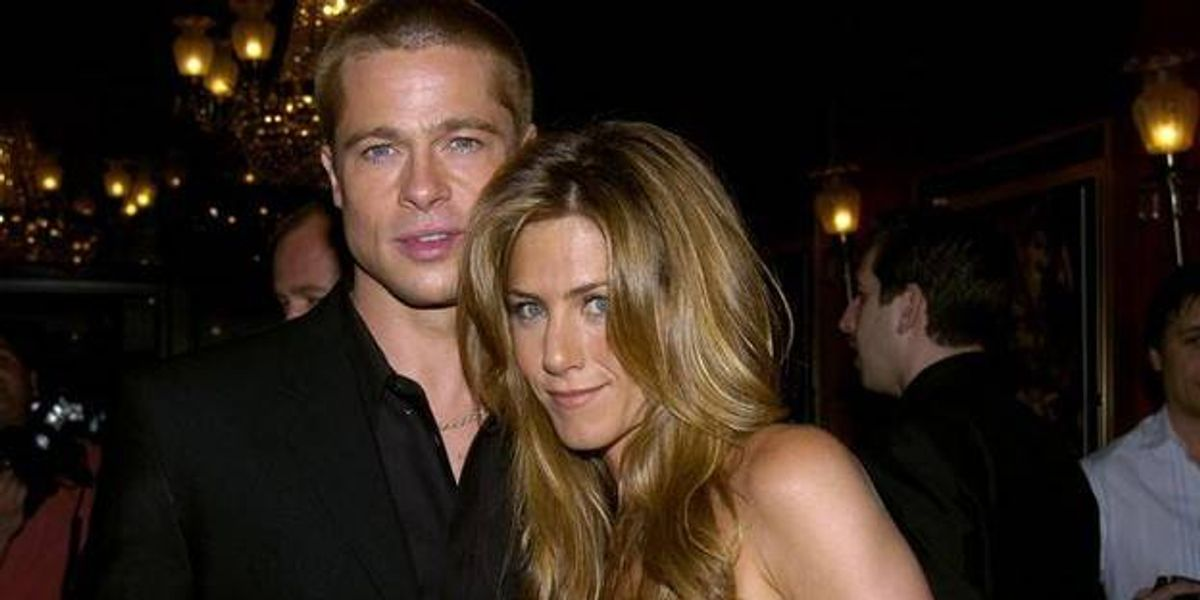 Brad Pitt y Jennifer Aniston celebraron juntos una fiesta navideña inolvidable y morimos de amor