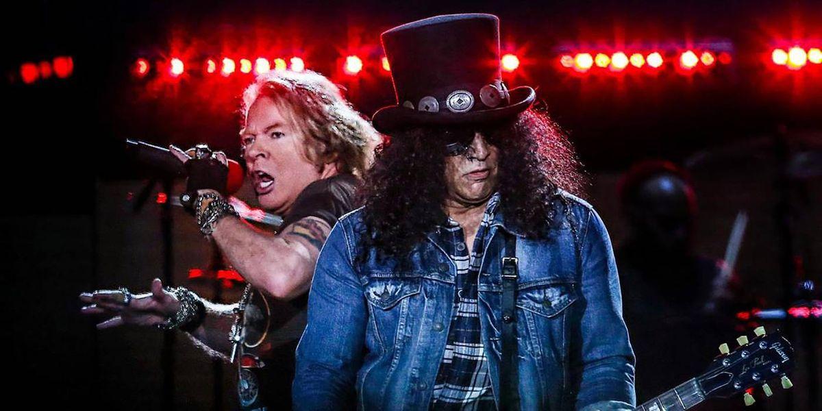 Guns N' Roses llega a Ecuador con un espectáculo de lujo en 2020