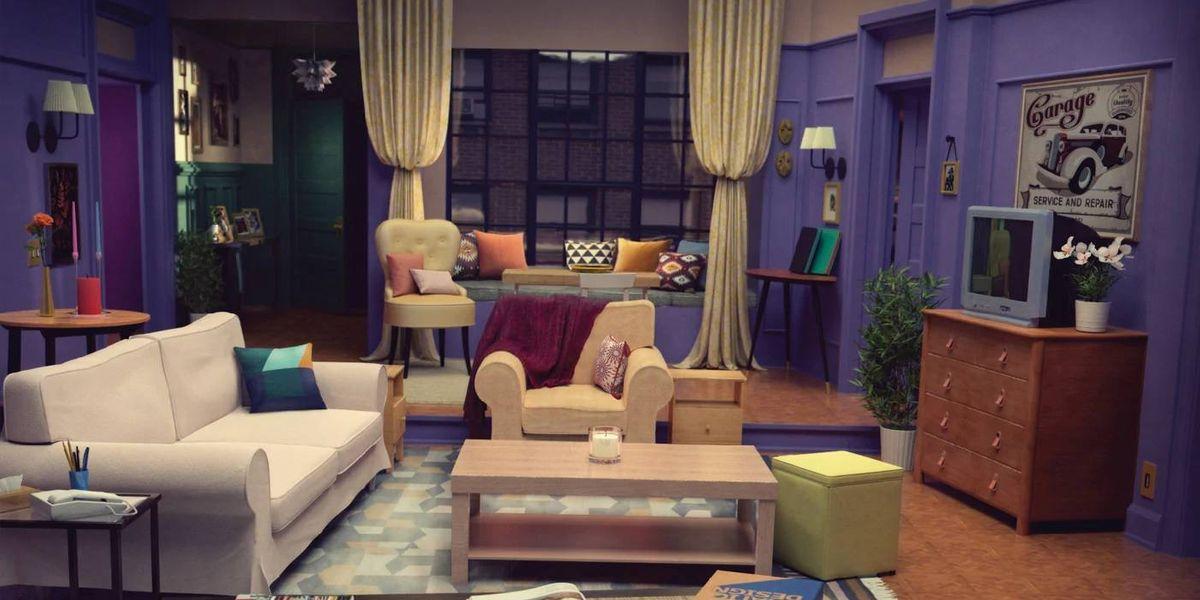 IKEA recrea las escenografías de Friends, Stranger Things y Los Simpsons
