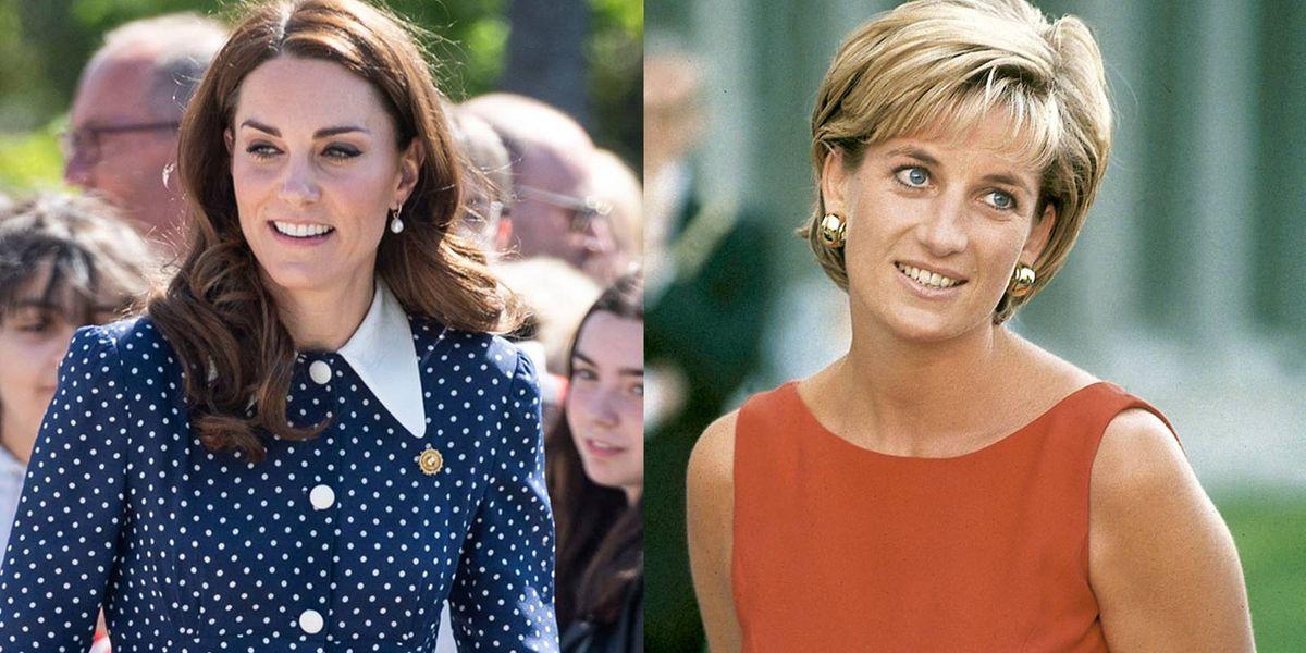 Kate Middleton copió este truco a Lady Di para tener el mejor estilo de la realeza
