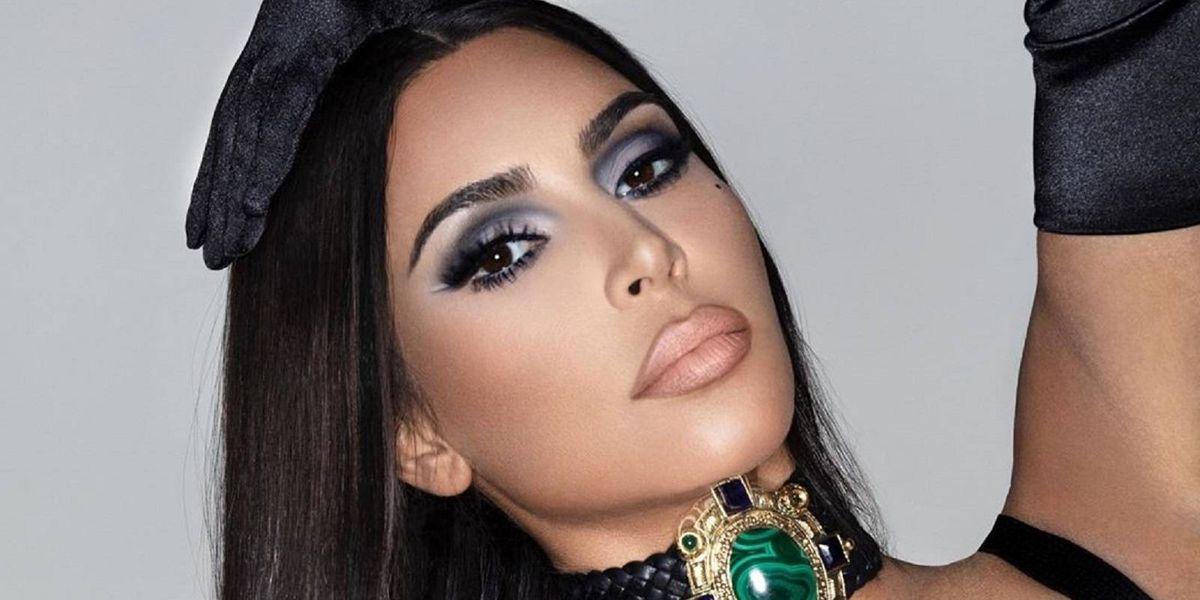 Las fotos de Kim Kardashian en los 90 que inspiraron su nueva línea de maquillaje