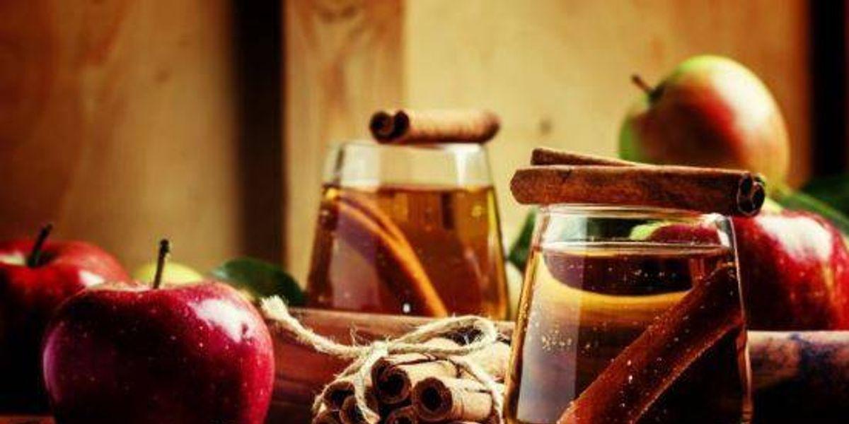 Bebidas de manzana, jengibre y canela para acelerar el metabolismo y adelgazar rápidamente
