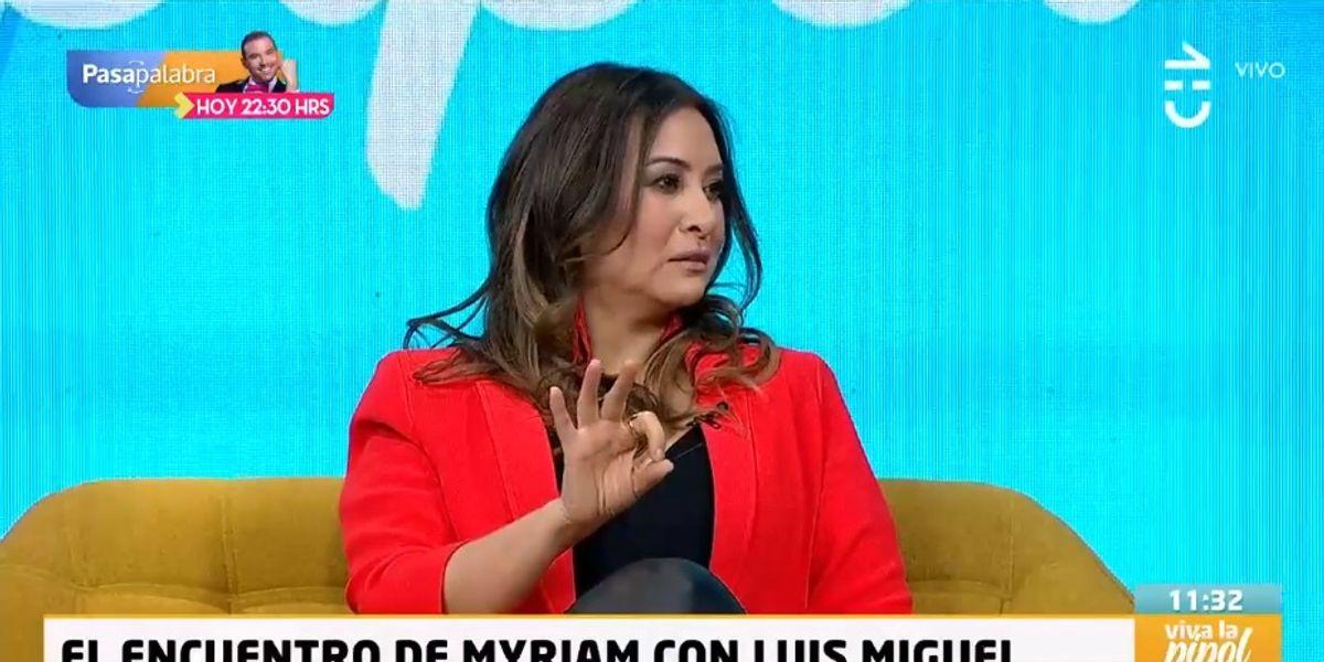 """Myriam Hernández y su desconocida amistad con Luis Miguel: """"Fue lo más amoroso que hay"""""""
