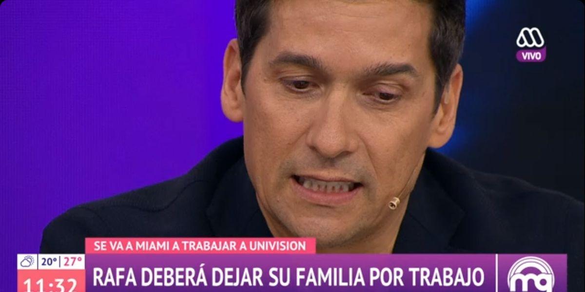 """Rafael Araneda y su trabajo en el extranjero: """"Si hubiese alguien que no estuviese contento, yo me quedo"""""""
