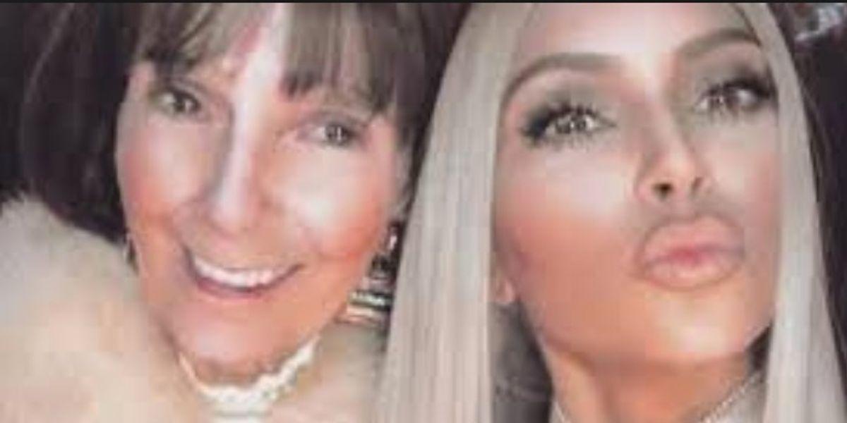 La abuela de Kim Kardashian sorprende con su aspecto