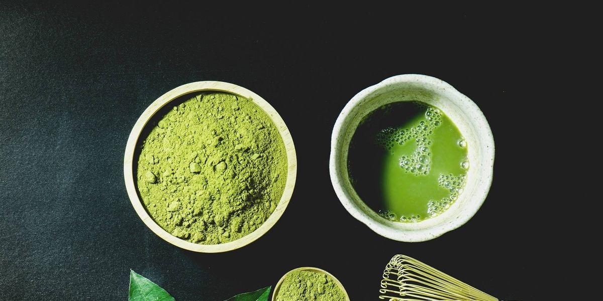 Mascarilla de té verde para un cabello suave y fuerte