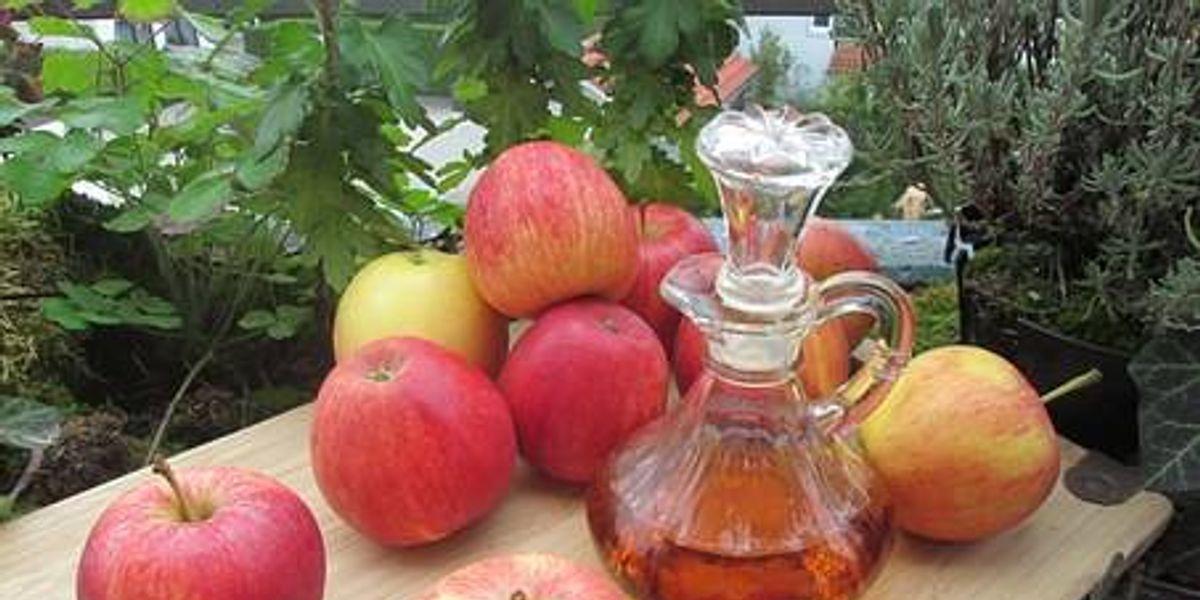 El vinagre de manzana si es saludable, pero su consumo en exceso puede ser muy peligroso