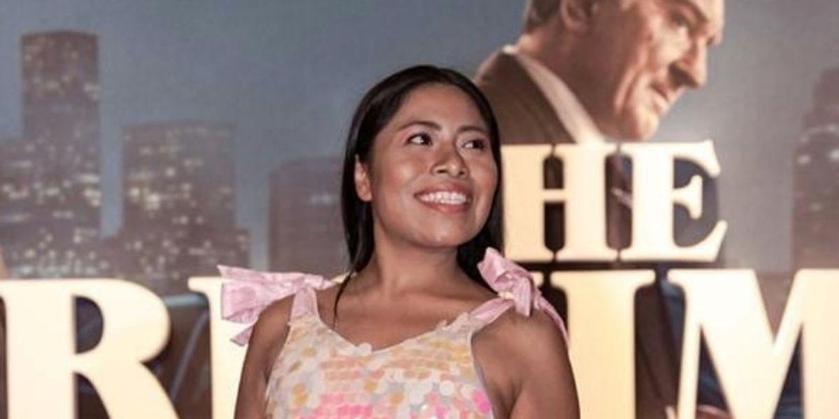 Yalitza Aparicio no sólo vistió Dior en Quintana Roo, también apoyó obras altruistas